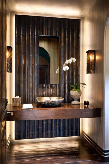 30 peaceful japanese inspired bathroom d cor ideas digsdigs - Oriental bathroom decor ...