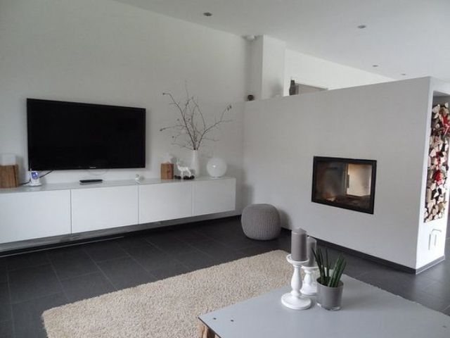 modern Japanese interior in cream  grey and with brown accents 26 Serene Living Room D cor Ideas DigsDigs
