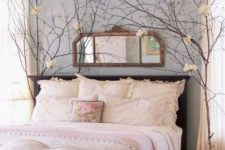 07 blush bedding with fluffy pillows look inviting