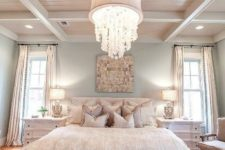 08 lots of pillows and soft bedding with ruffles look cute and inviting