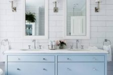 08 serene bathroom with subway tiles on the walls
