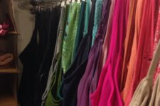 19 your tank tops can be easily organized using hooks