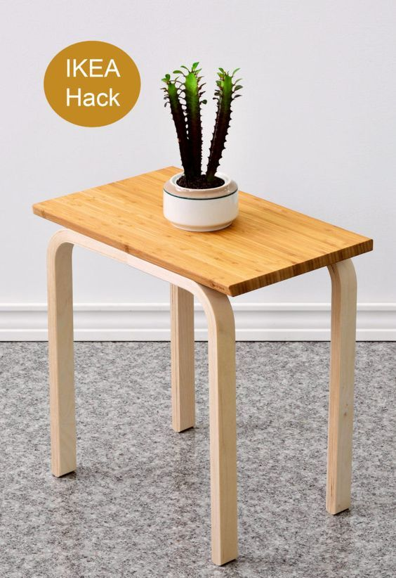 40 amazing ikea frosta stool ideas and hacks digsdigs. Black Bedroom Furniture Sets. Home Design Ideas