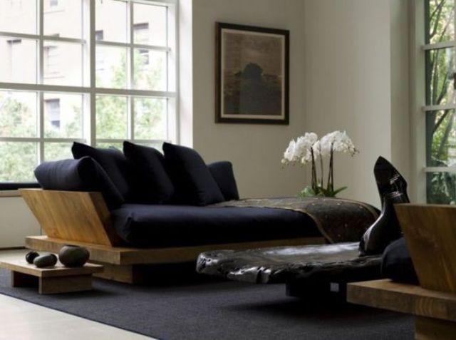 26 Serene Japanese Living Room Décor Ideas - Digsdigs