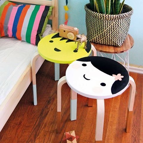 creative Frosta hacks for a kid's room