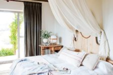 25 the bed look mush more inviting with a decorative canopy over it