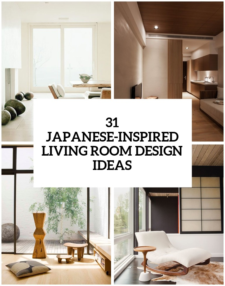 Serene Japanese Living Room Designs Cover