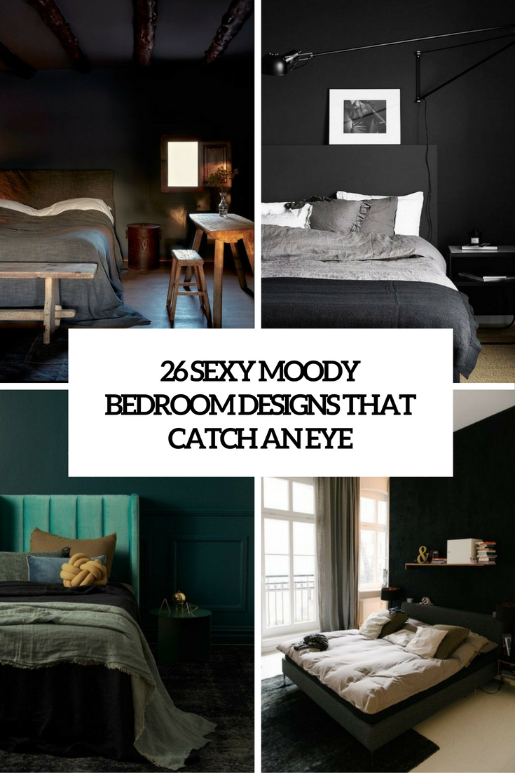 sexy moody bedroom designs that catch an eye cover