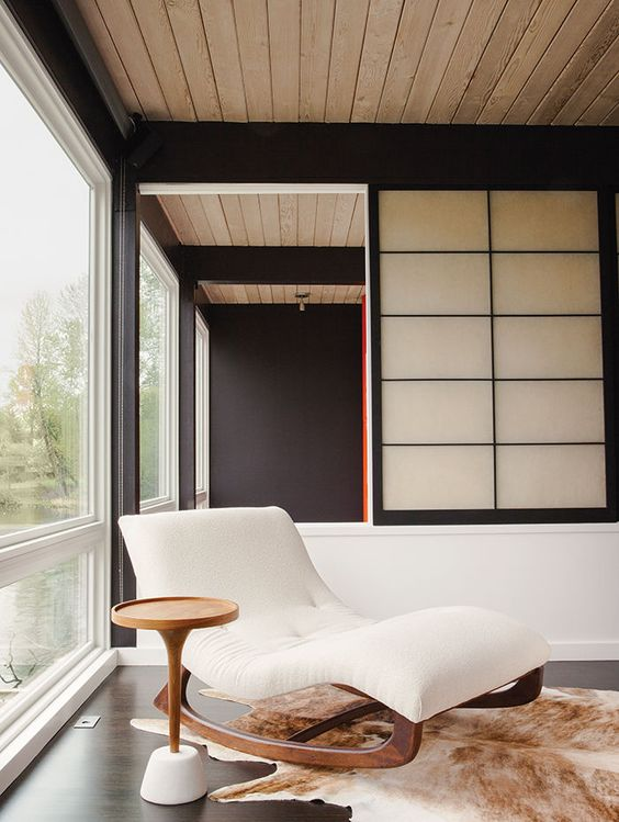 shoji-style screens for living room decor