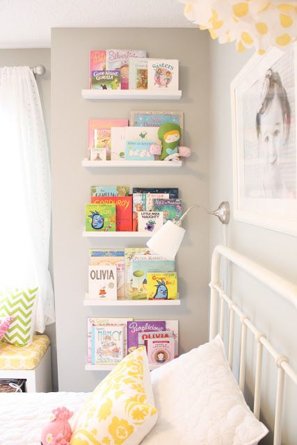 Lack shelves for kids' books display