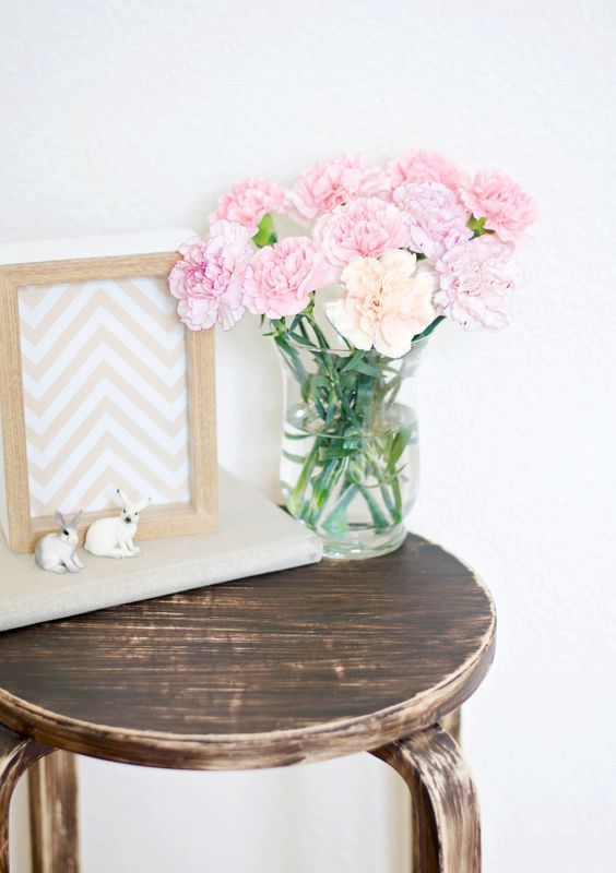 rustic and shabby chic Frosta stool makeover