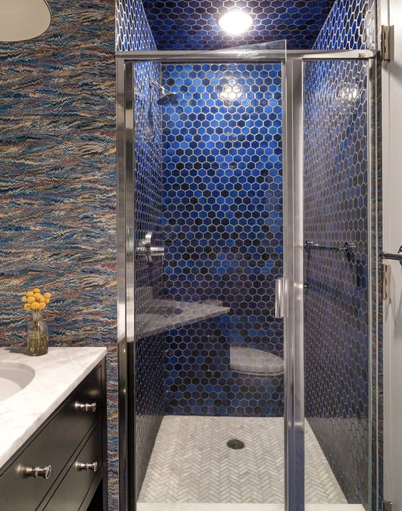 Favorite 36 Trendy Penny Tiles Ideas For Bathrooms - DigsDigs XZ26