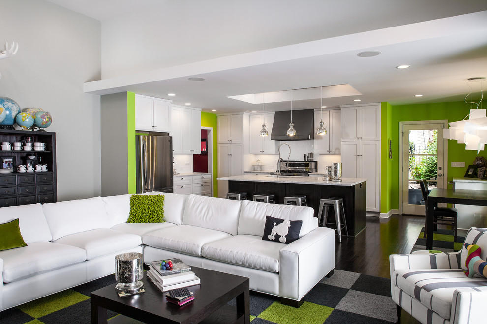 37 Green And Grey Living Room Décor Ideas