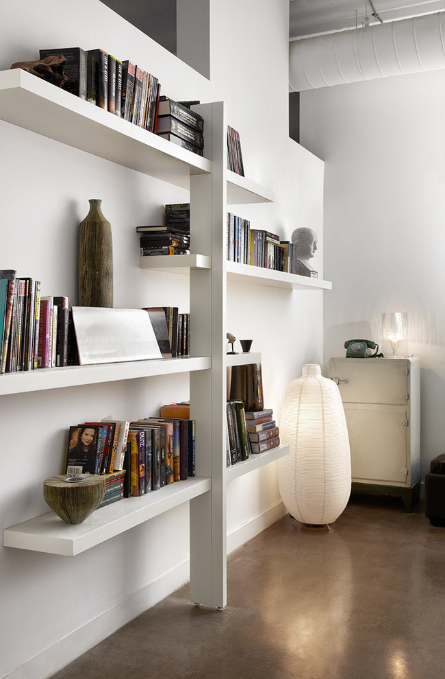 With light modifications, several LACK shelves could become a single beautiful storage solution. (stephane chamard)