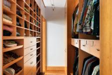 walk in closet organization