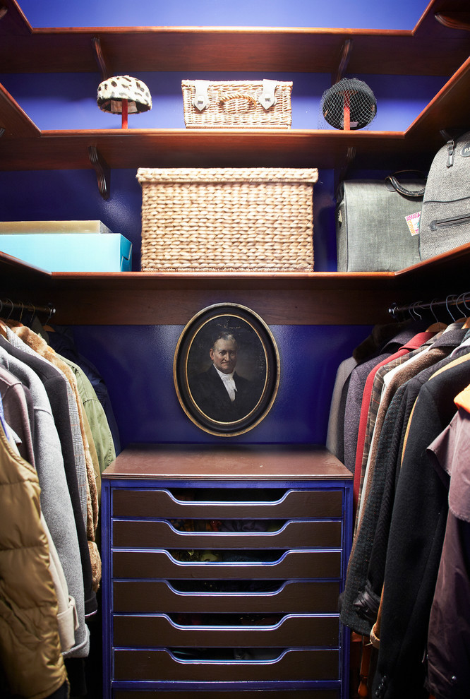 add some art to make your closet looks less like utility space (BFDO Architects pllc)