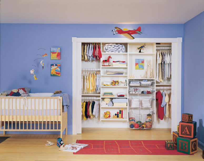 even a nursery would win if you manage to squeeze a walk-in closet there (California Closets Maryland)