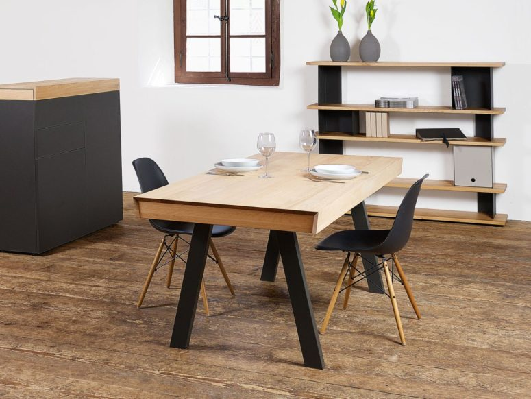 Convertible Celerina Table For Dining And Working