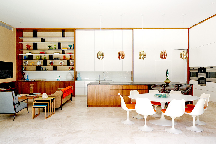 Greentree residence in East Hampton, NY was designed and decorated by Aran Construction