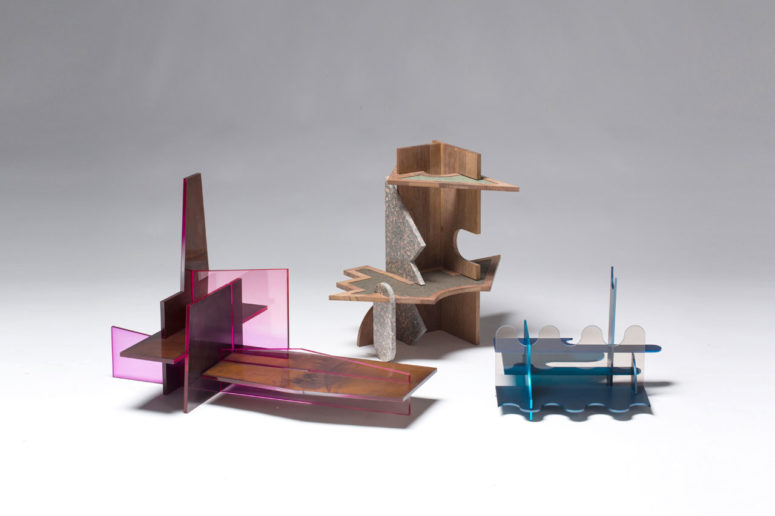 Piece Furniture Collection: Puzzle-Inspired Art Objects