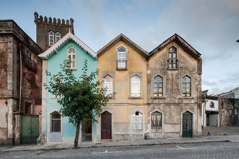 This historic building is called The three Cusps Chalet and it was renovated to restore its glory