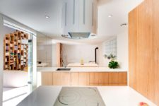 kitchen with mirrors