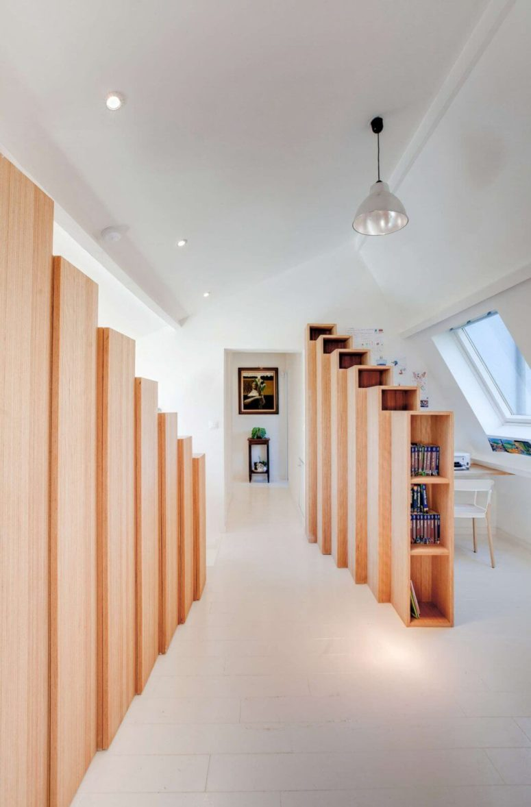 Bookshelves are a part of design, they function as space dividers, storage and decorative elements