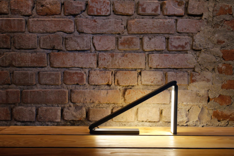 Liminal lamp will easily adapt to any conditions and will look amazing