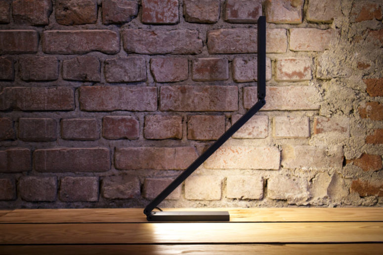 The black lamp will easily blend with the surroundings, minimal, moderт, industrial and others
