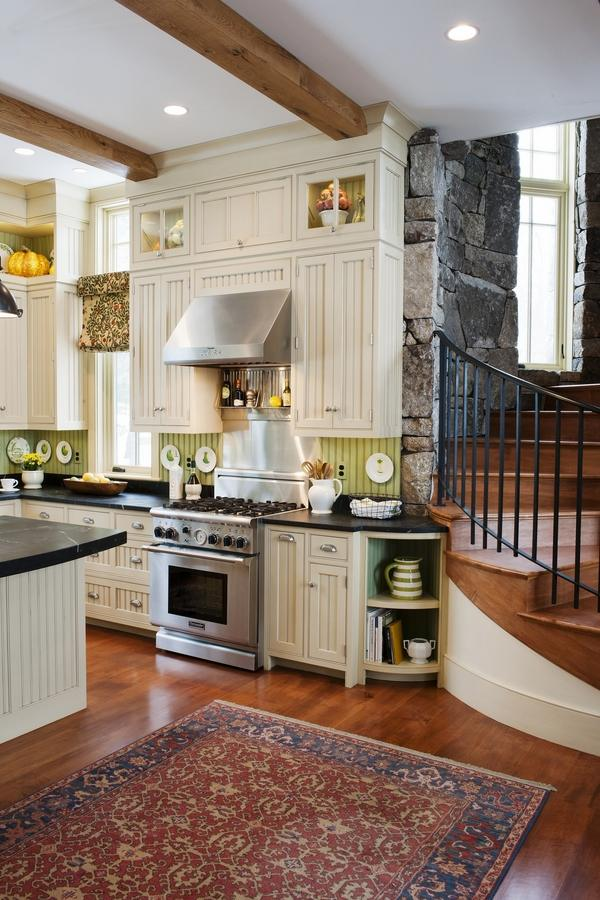 All White Kitchen Traditional
