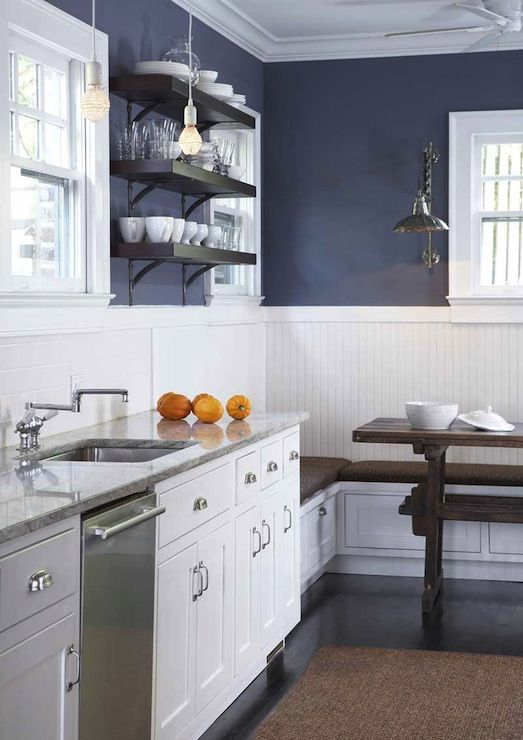 25 Beadboard Kitchen Backsplashes To Add A Cozy Touch - DigsDigs
