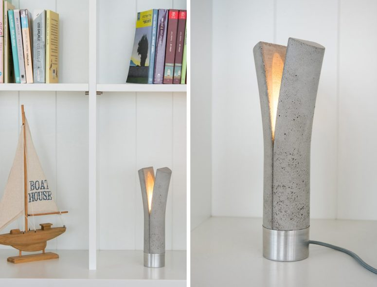 The designers say that these lamps symbolize two different genders merged in one body