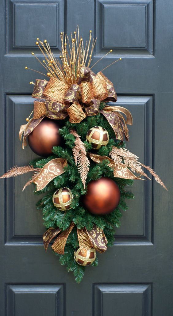 copper and brown is a cool combo for making all types of decorations