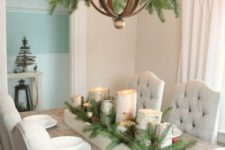 14 easy evergreen decor for your chandelier