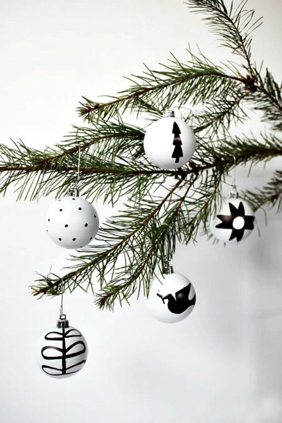 Nordic-inspired ornaments for decor