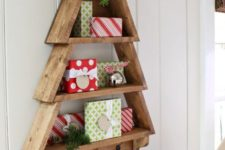 18 a wall tree that doubles as a shelf is a cool idea