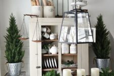 23 decorate your home with evergreens and candles with no other decor and keep it neutral