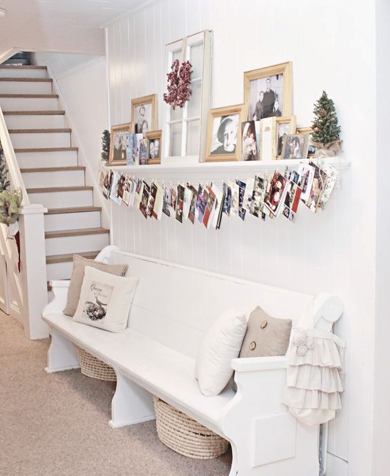 44 Best Christmas Card Display Ideas - DigsDigs