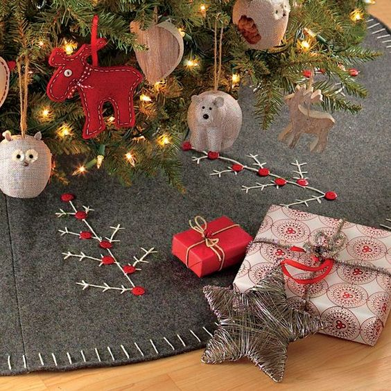 Tree Skirt Ideas For Kids