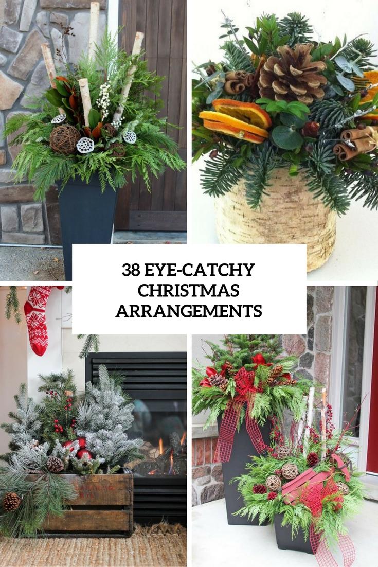 38 Eye-Catchy Christmas Arrangements