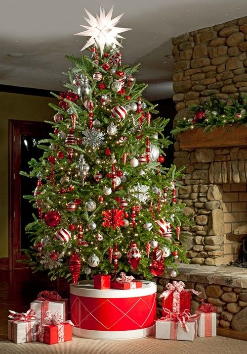 Ideal How To Cover A Christmas Tree Base: 38 Ideas - DigsDigs AD59