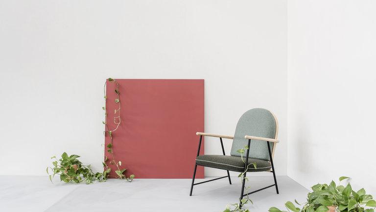 AYA Furniture: Natural Rattan Mixed With Industrial Metal