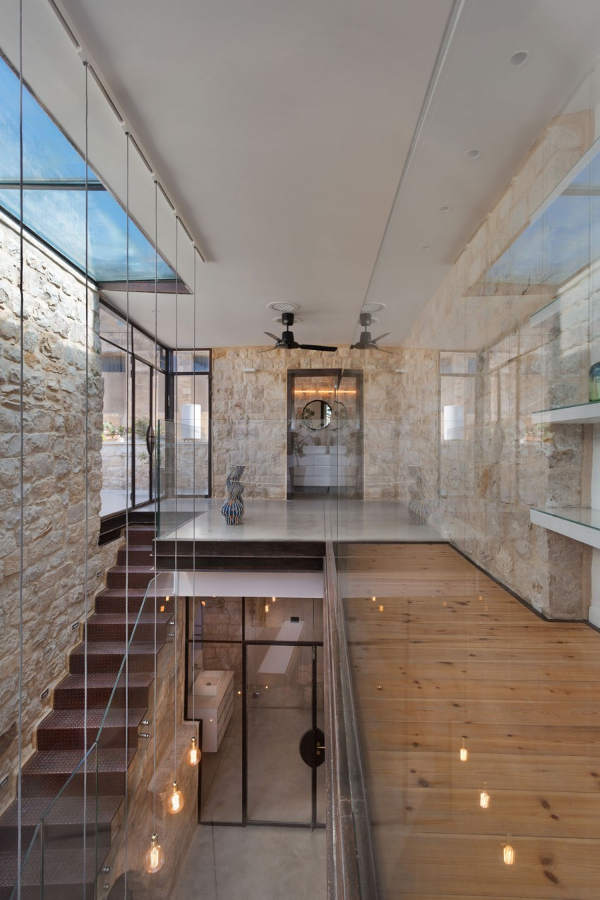 Ancient Stone Home Conversion Into A Modern One