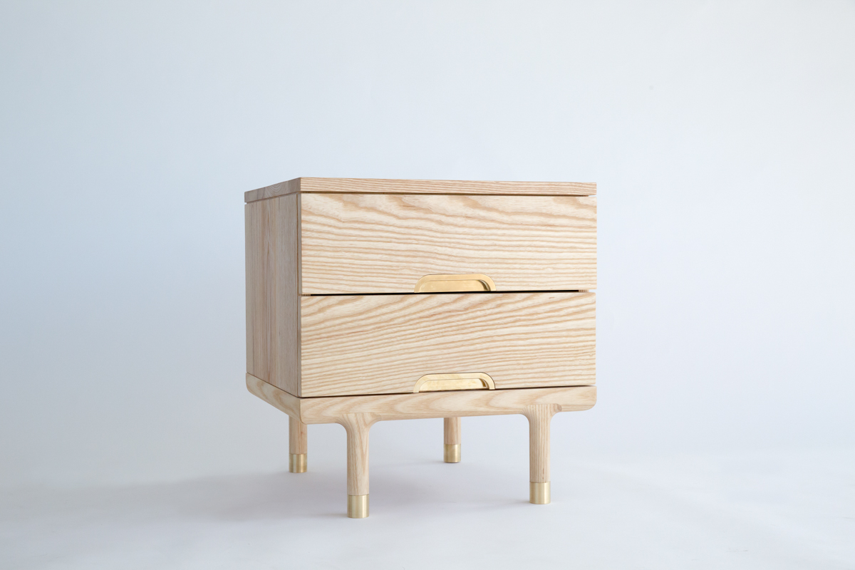The furniture is made using Shibui principles