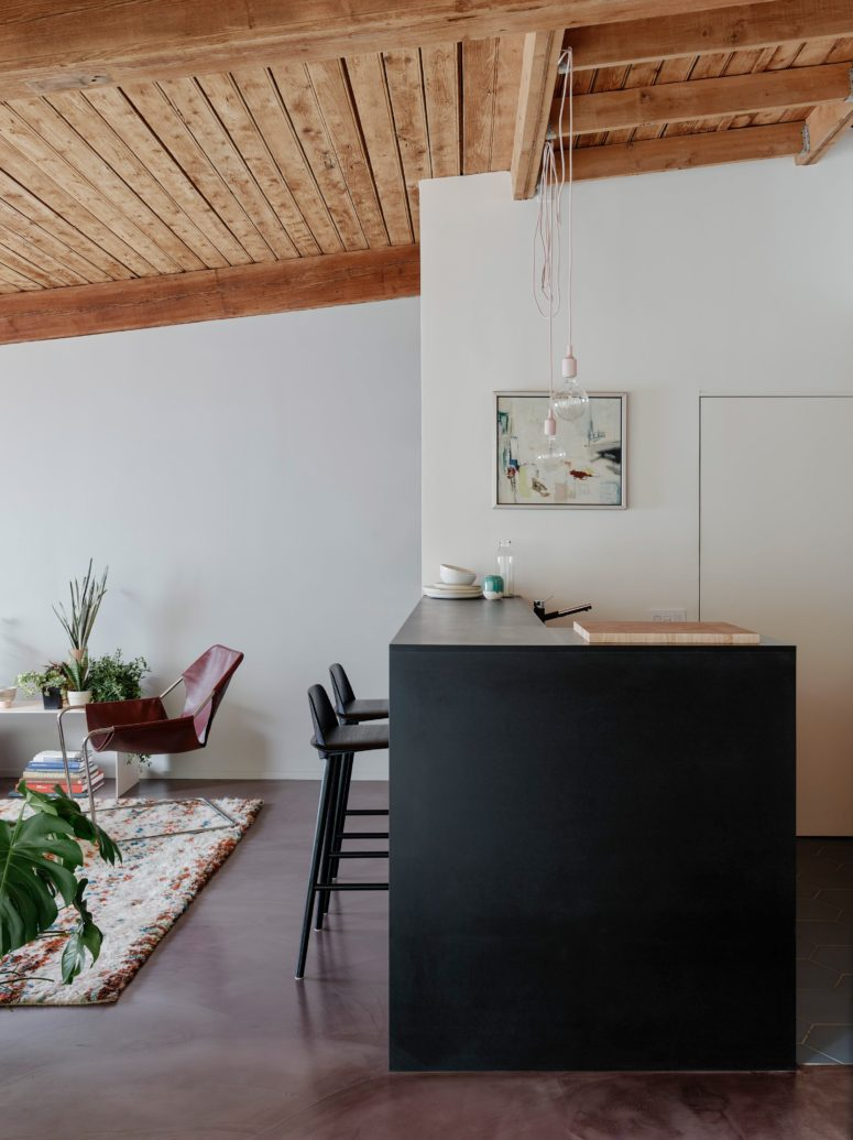 The interiors got a modern and boho feel with new furniture
