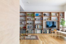 04 The space is modern and with an open layout, every nook is functional considering the growth of the owners' child