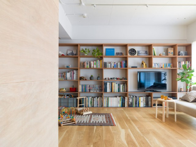 The space is modern and with an open layout, every nook is functional considering the growth of the owners' child