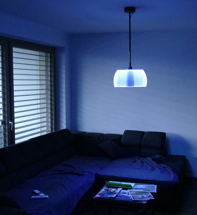 The lamp is versatile in its use and location