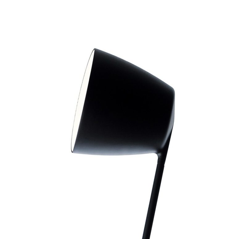 The lamp head is simple, dynamic and laconic