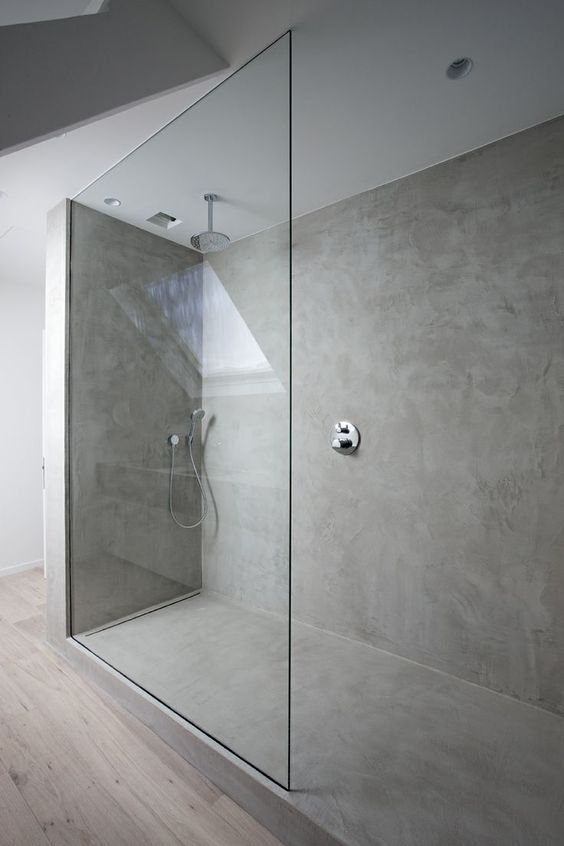 concrete is a modern durable material that can substitute any tiles